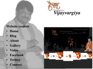 Kailash Vijayvargiya | IT Minister Madhya Pradesh | BJP Cabi