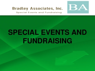 SPECIAL EVENTS AND FUNDRAISING, bradley associates hong kon