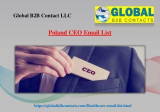 Poland CEO Email List