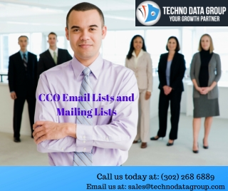 CCO Email Lists & Mailing Lists | Chief Compliance Officer Email Lists in USA