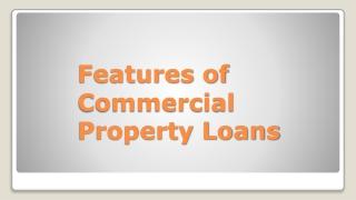 Commercial Property Loans - GCC