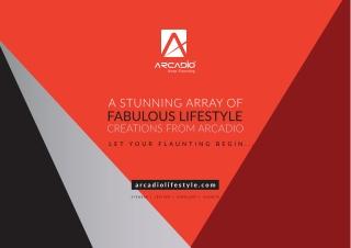 Arcadio #Lifestyle Products