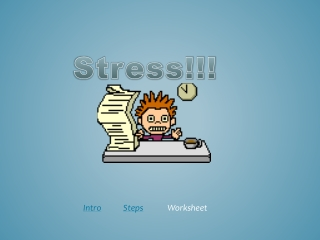 Stress Webquest