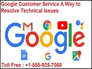 Google Customer Service A Way to Resolve Technical Issues