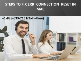 Steps To Fix ERR_CONNECTION_RESET in Mac