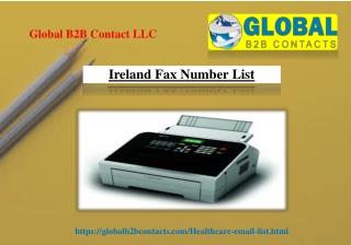 Ireland Fax Number List