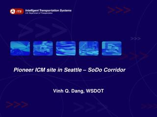 Pioneer ICM site in Seattle – SoDo Corridor