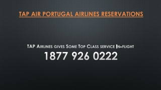 TAP Airlines gives Some Top Class service In-flight