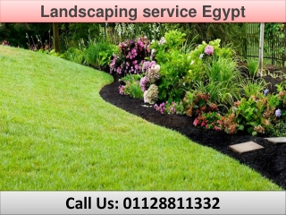 Landscaping service Egypt