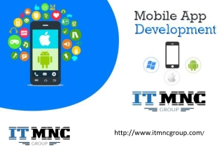 Mobile App Development in Noida