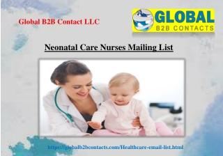 Neonatal Care Nurses Mailing List