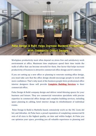 Marbella Interior Design- Pulsedesignbuildcom
