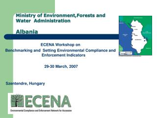 Ministry of Environment,Forests and Water  Administration Albania