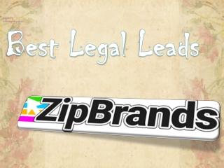 Best Legal Leads- ZipBrands