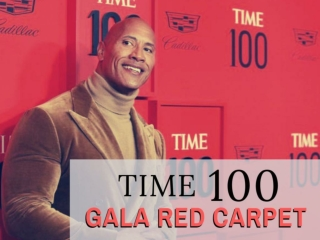 Time 100 Gala red carpet