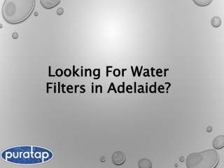 Is Installation Of water filters Necessity? Health-related Column!