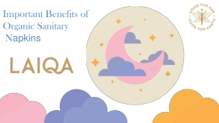 Important Benefits of Organic Sanitary Pads