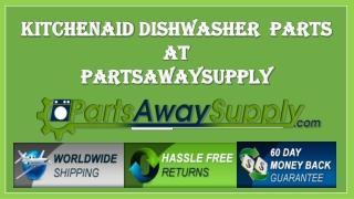 Kitchenaid dishwasher repair parts