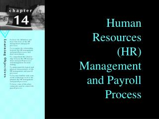Human Resources HR Management and Payroll Process