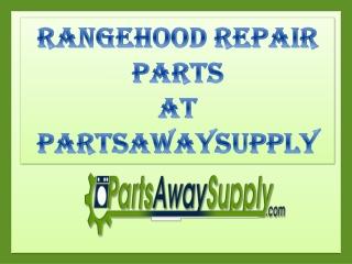 Range Hood Repair Parts