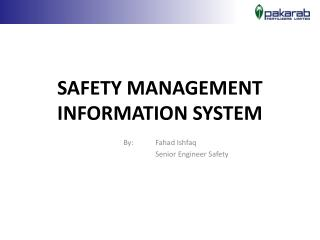 SAFETY MANAGEMENT INFORMATION SYSTEM