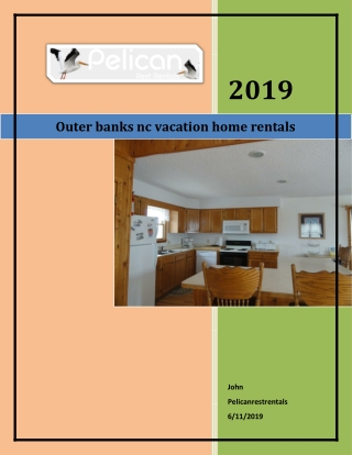 outer banks nc vacation home rentals