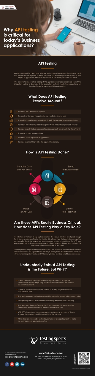 Why API Testing is Critical for Today's Business Applications