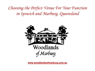 Choosing the Perfect Venue For Your Function in Ipswich
