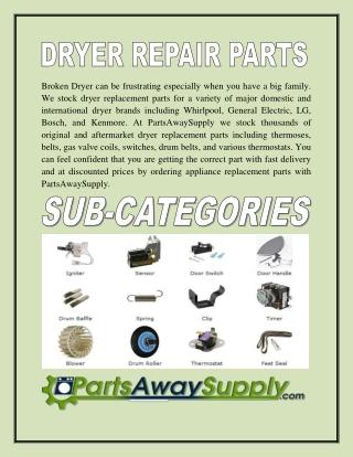 Dryer Repair Parts