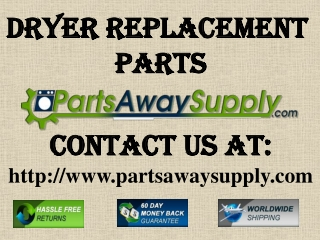 Dryer Replacement Parts