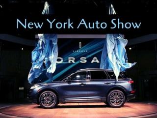 2019 New York auto show