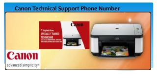 Dial Canon Technical Support Phone Number to resolve Printer errors