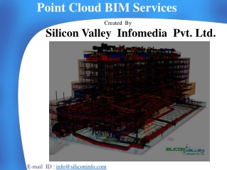 Point Cloud BIM Services - Silicon Valley Infomedia