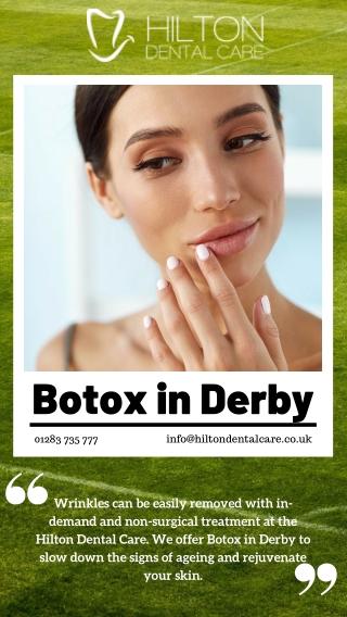 Botox in Derby