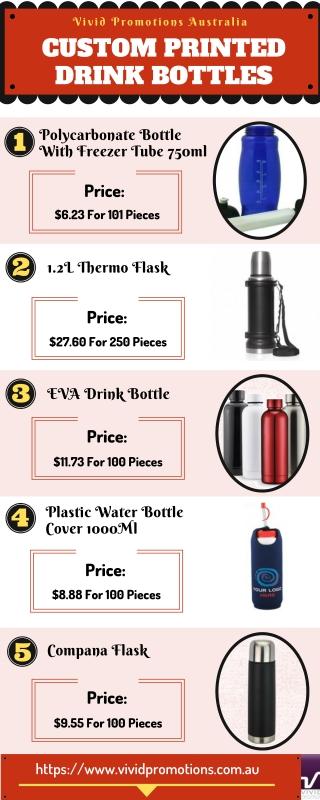 Personalised Drink Bottles and Sports Bottles | Custom Printed Drink Bottles