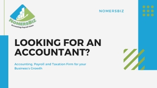 NomersBiz | Accounting, Payroll, HR, Tax & Finance Services For Startups