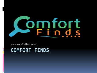 COMFORT FINDS