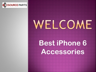 Best iPhone 6 Accessories