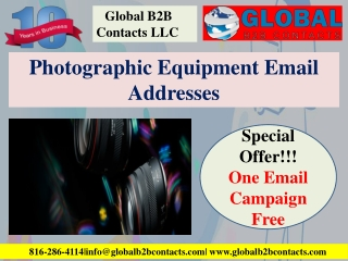 Photographic Equipment Email Addresses