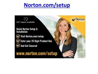 norton.com/setup - Install Norton