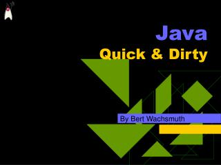 Java Quick  Dirty