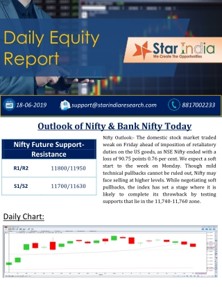 Best inventory trading tips, Stock Market Tips Provider- Outlook of Nifty & Bank Nifty Today