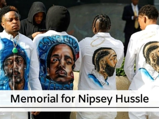 Memorial for Nipsey Hussle