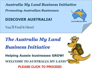 Australia My Land Business Initiative