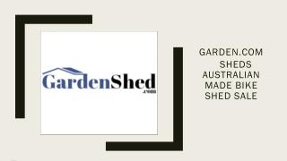 Timber Sheds, Absco Sheds Storage Sheds Online