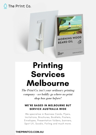 The Print Co: Printing Services Melbourne