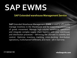SAP Warehouse Management PPT