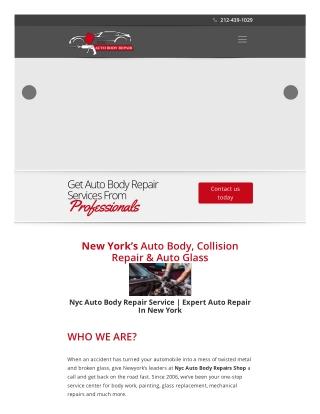 Auto Body Shop and Car Repair