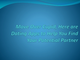 Popular Dating Apps