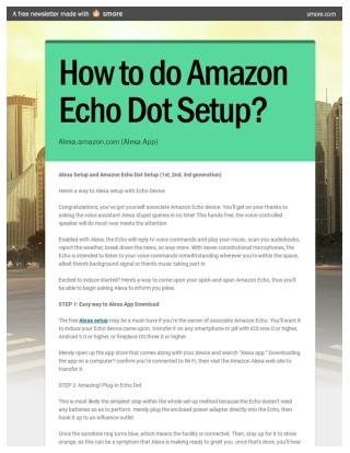 Tips and Tricks to use Amazon Alexa App and It's Setup